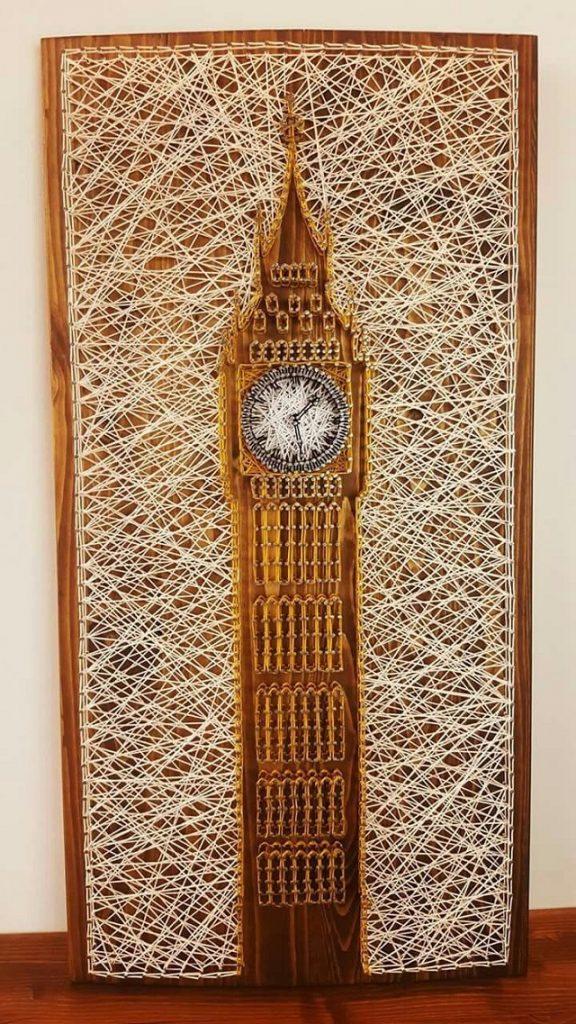 Big Ben String Art