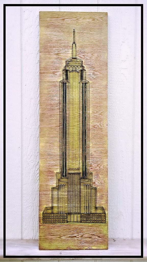 Empire State String Art