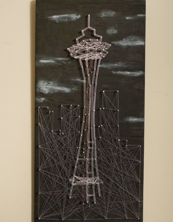 Space Needle String Art