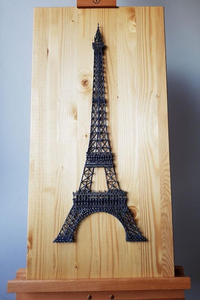 Tour Eiffel String Art